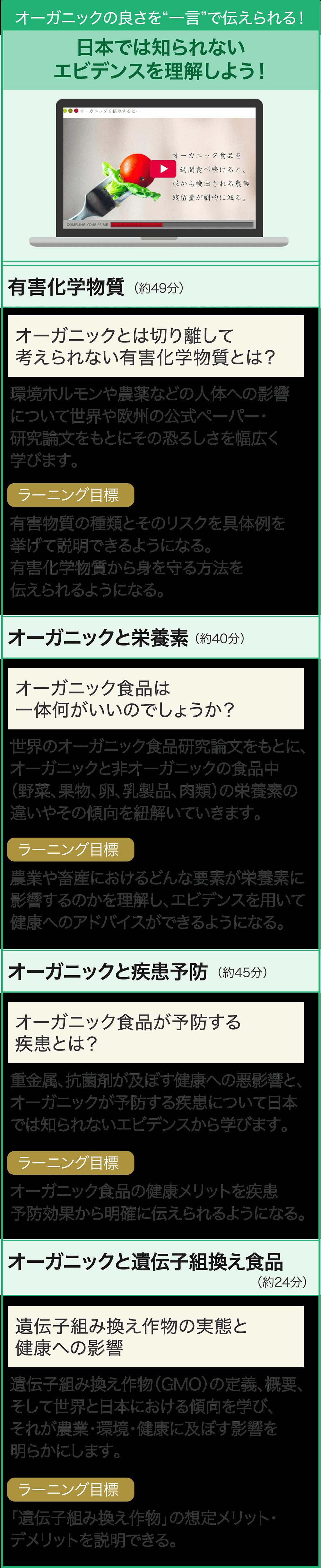 日本では知られないエビデンスを理解しよう!