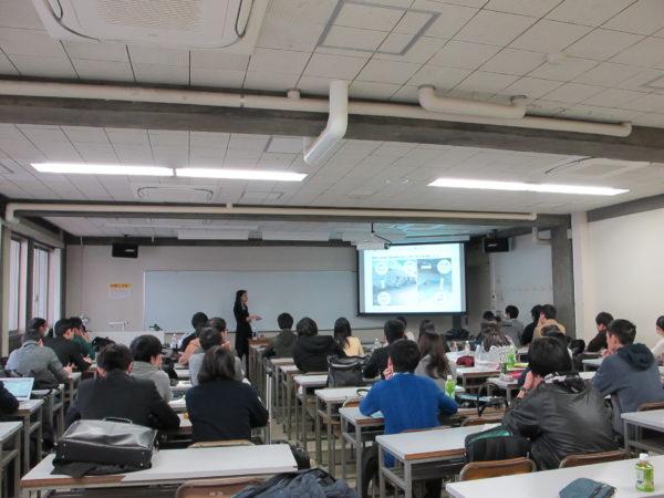 慶應義塾大学にてゲスト講師として登壇